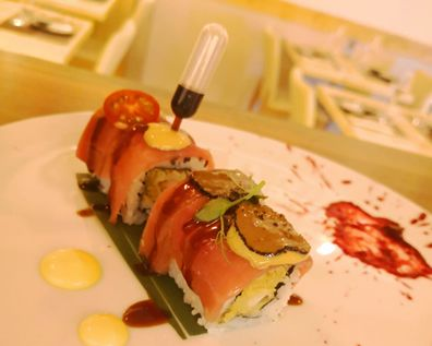 Special roll, sushi assortiti